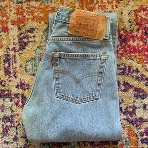 Vintage HTF 501 Levis made in USA